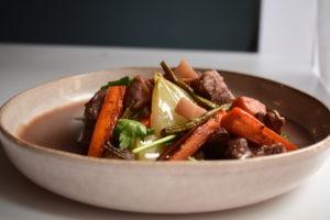 Daube provençale boeuf et carottes