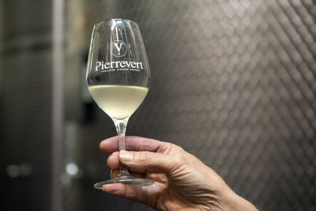 Vin blanc Petra Viridis Pierrevert