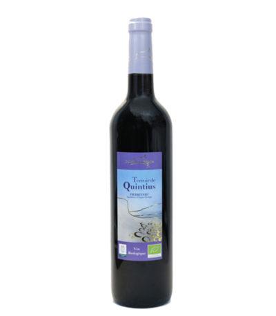 Vin rouge quintius bio petra viridis