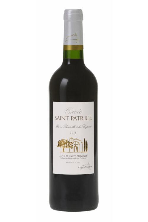 Vin rouge Saint Patrice petra viridis