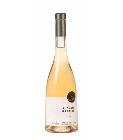 Vin rosé Auguste Bastide petra viridis