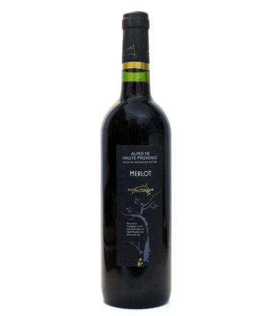Vin rouge Merlot Petra viridis