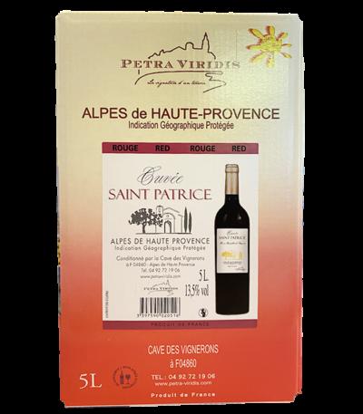 bag in box vin rouge saint patrice petra viridis
