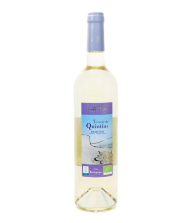 Vin blanc bio Quintius petra viridis