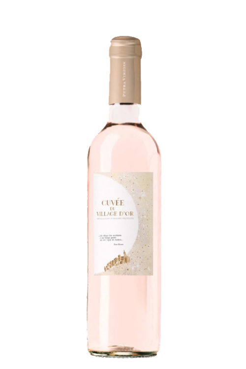 Vin rosé village d'or petra viridis