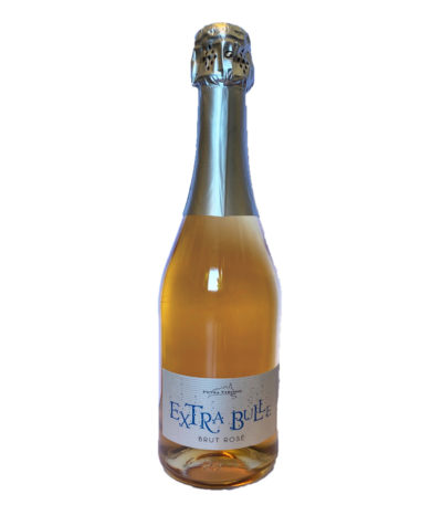 vin pétillant brut rosé extra bulle petra viridis