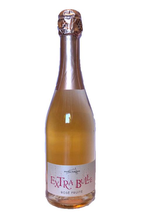 vin pétillant rosé fruité extra bulle petra viridis